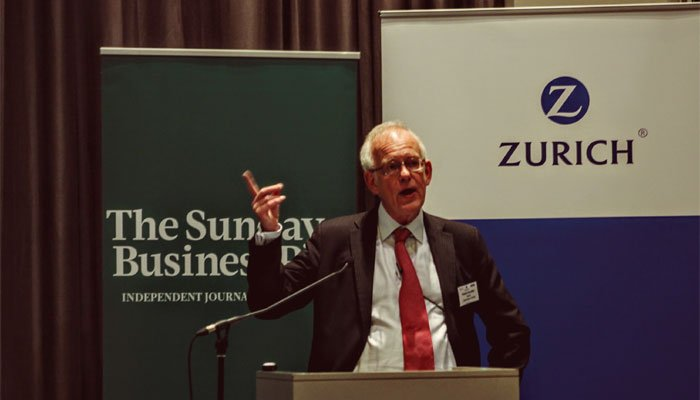 Richard Saunders Speaking At Zurich Sponsored Event