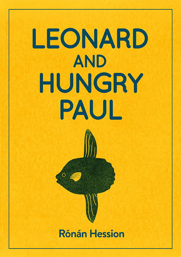 Leonard and hungry Paul book cover by Ronan Hession